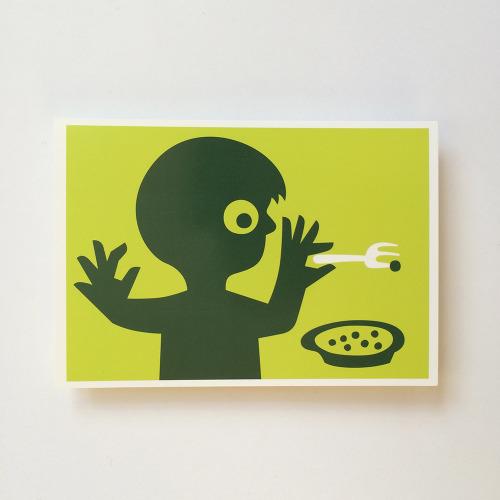 Briefkaart_kind_jongen_soepl